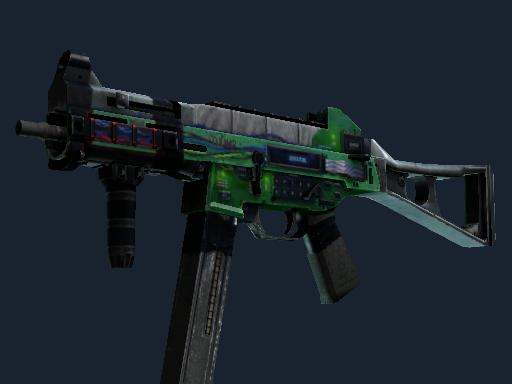 Скин UMP-45   Взрывчатка (Закалённое в боях)