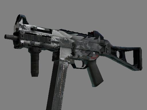 Скин UMP-45 | Арктический волк (Закаленное в боях)