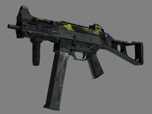 Скин UMP-45 | Бунт (Закалённое в боях)