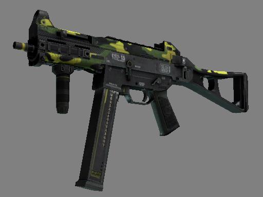 Скин StatTrak™ UMP-45 | Бунт (Поношенное)