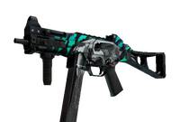StatTrak™ UMP-45   Primal Saber (Battle-Scarred)
