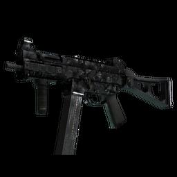 StatTrak™ UMP-45 | Metal Flowers (Battle-Scarred)
