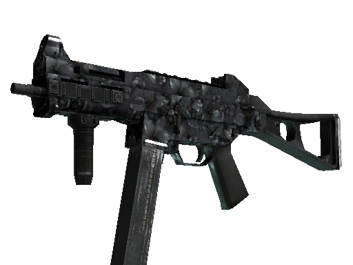 UMP-45 | Metal Flowers (Battle-Scarred)