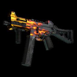 UMP-45 | Blaze (Minimal Wear)
