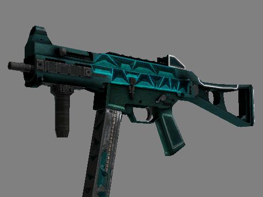 Скин UMP-45 | Каркас (Закалённое в боях)