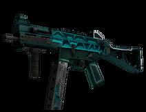 StatTrak™ UMP-45   Scaffold (Battle-Scarred)