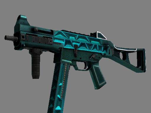 StatTrak™ UMP-45 | Scaffold (Well-Worn)