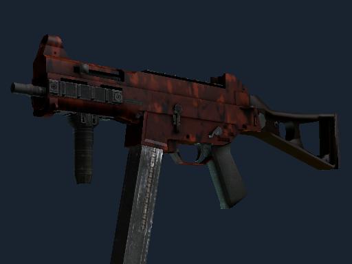UMP-45 | Full Stop (Battle-Scarred)