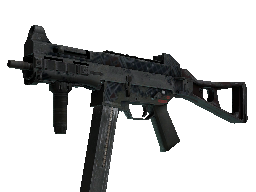 UMP-45 | Facility Dark Battle-Scarred