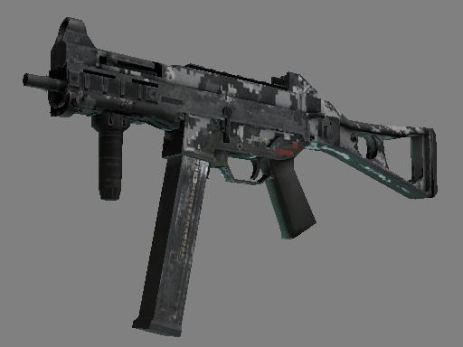 UMP-45 | Urban DDPAT Battle-Scarred