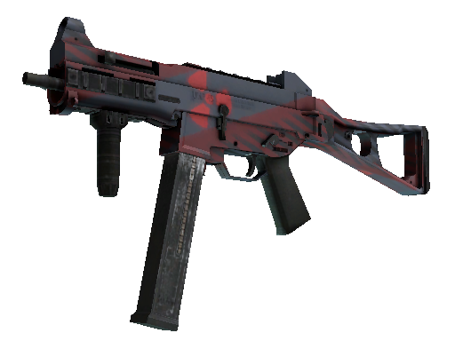 UMP-45 | Fallout Warning (Battle-Scarred)