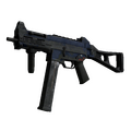 UMP-45 | Indigo <br>(Battle-Scarred)