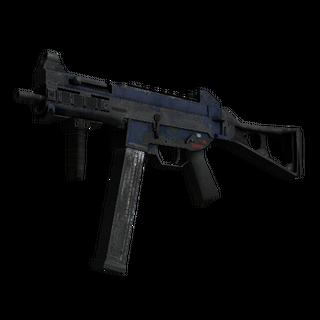Souvenir UMP-45 | Indigo (Battle-Scarred)