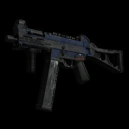 free csgo skin Souvenir UMP-45 | Indigo (Battle-Scarred)