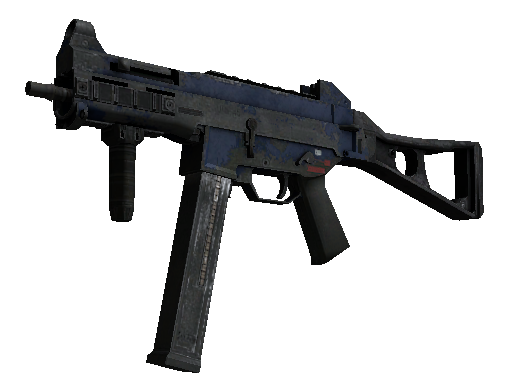 UMP-45 | Indigo Battle-Scarred