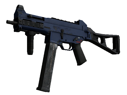 UMP-45 | Indigo Field-Tested