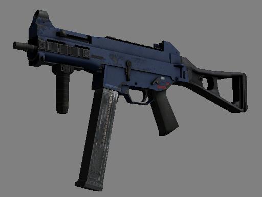 Скин Сувенирный UMP-45 | Индиго (После полевых испытаний)