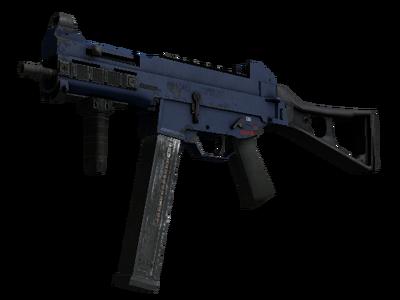 Сувенирный UMP-45 | Индиго (После полевых испытаний)