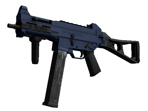 Souvenir UMP-45 | Indigo (Battle-Scarred)