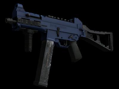 Сувенирный UMP-45 | Индиго (Немного поношенное)