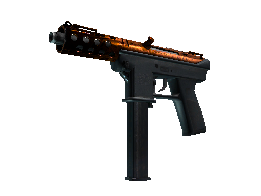 Tec-9 | Red Quartz Minimal Wear