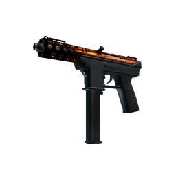 Souvenir Tec-9 | Red Quartz (Minimal Wear)
