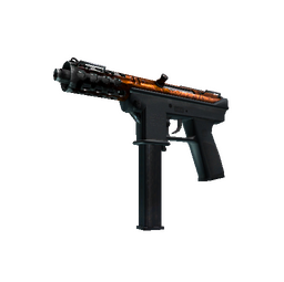 Souvenir Tec-9 | Red Quartz (Well-Worn)