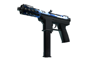 Tec 9 Ice Cap Well Worn