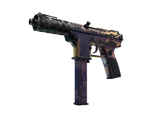StatTrak™ Tec-9 | Sandstorm (Battle-Scarred)