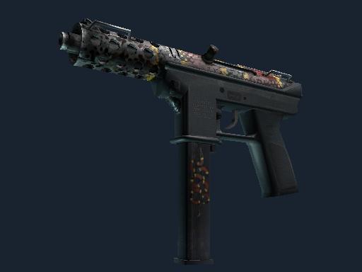 Скин Tec-9 | Змейк-9 (Закаленное в боях)