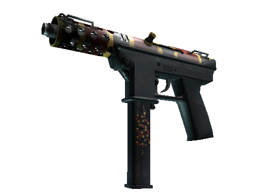 StatTrak™ Tec-9 | Snek-9 (Battle-Scarred)