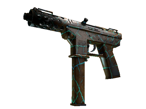 Tec-9 | Cracked Opal Battle-Scarred