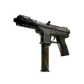 Tec-9 | Cracked Opal <br>(Battle-Scarred)