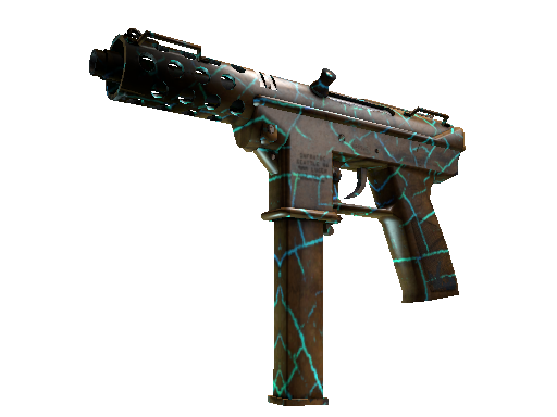 Tec-9 | Cracked Opal Well-Worn