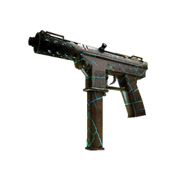 Tec-9 | Cracked Opal (Well-Worn)
