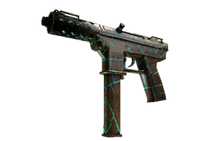 Tec 9 Cracked Opal Field Tested