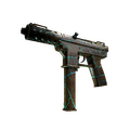 Tec-9 | Cracked Opal <br>(Well-Worn)