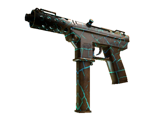 Tec-9 | Cracked Opal (Battle-Scarred)