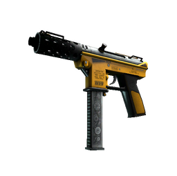 StatTrak™ Tec-9 | Fuel Injector (Well-Worn)