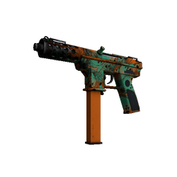 Souvenir Tec-9 | Toxic (Well-Worn)