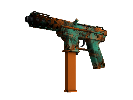 Souvenir Tec-9 | Toxic (Battle-Scarred)