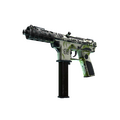 Tec-9 | Bamboo Forest <br>(Battle-Scarred)