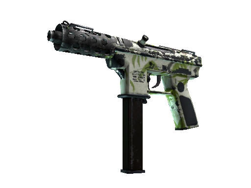 Tec-9 | Bamboo Forest Battle-Scarred