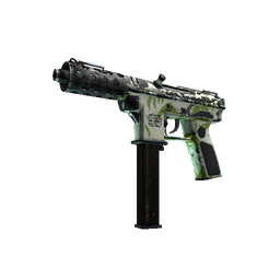 free csgo skin Tec-9 | Bamboo Forest (Battle-Scarred)