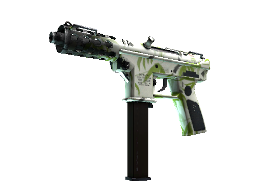 Tec-9 | Bamboo Forest Well-Worn