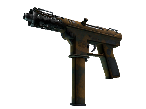 Tec-9 | Rust Leaf Well-Worn
