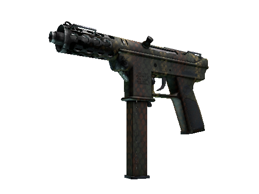 Tec-9 | Army Mesh Well-Worn