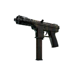 Souvenir Tec-9 | Army Mesh (Well-Worn)