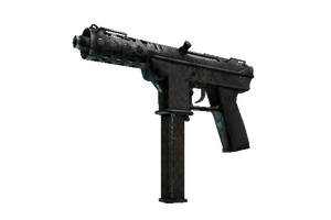 Tec 9 Army Mesh Battle Scarred