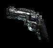 R8 Revolver   Bone Mask (Battle-Scarred)